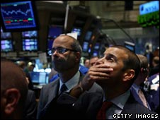 Consternation at the NYSE