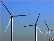 Wind turbines (Image: PA)