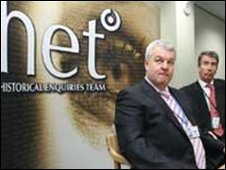 Dave Cox and Philip James of the HET