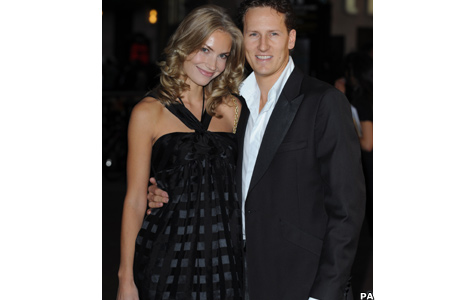 Brendan Cole and Zoe Hobbs