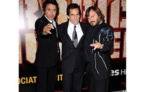 Robert Downey Jr, Ben Stiller, Jack Black