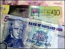 Bank of Scotland notes