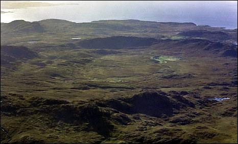 Ardnamurchan ring complex. Pic: Lochaber Geopark