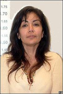 "Sandra Ávila Beltrán,  la ""Reina del Pacífico"" tras haber sido detenida."