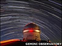 Telescopio del observatorio de Gemini