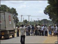 Displaced Tamils in Kilinochchi