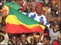 Ethiopia fans