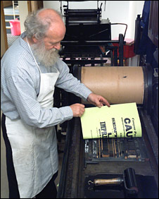 Printing press (Pic: Perth and Kinross Heritage Trust)