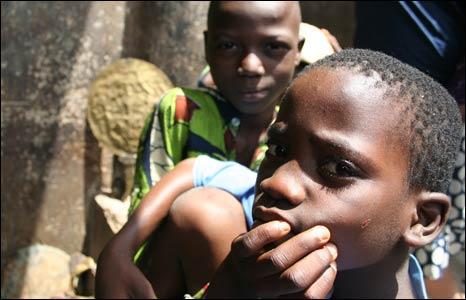 Adebisi's sons Ojo and Eta