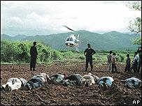 Cadáveres en México