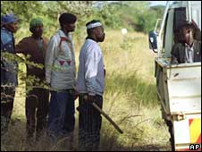 War veterans in Zimbabwe (Archive picture)
