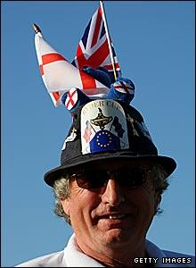 A European supporter