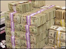 US cash seized in Operation Reckoning