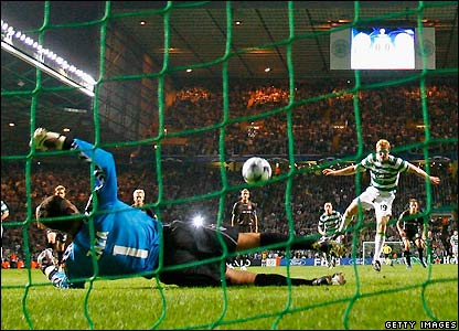 Robson sees his penalty saved