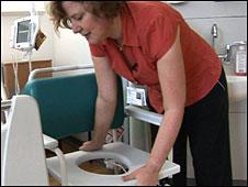 Nurse Debbie Flaxman (BBC)