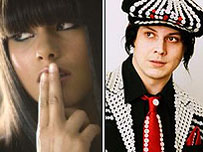 Alicia Keys and Jack White