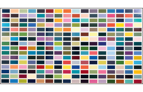 256 Farben (256 Colours) 1974/84 (© 2008 Gerhard Richter)