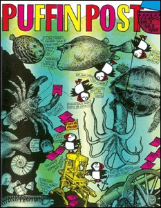 Puffin Post cover from 1968