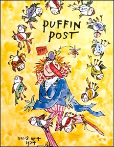 Penguin Post cover illustrated by Quentin Blake