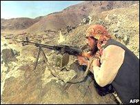 Mujahadeen fighter