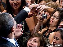 Barack Obama en cena del instituto del bloque hispano en el Congreso