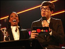 Mark Ronson and Kelly Rowland