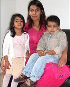 Asma Saddique with Salihah and Keyann