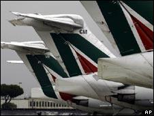 Alitalia planes