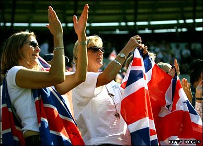 British tennis fans