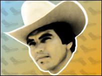 Chalino Sanch�z, un fallecido cantante de narcocorridos (Imagen: Wachtavato)