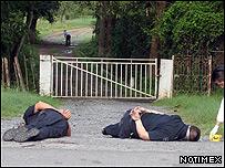 Policías muertos en México (Foto: Notimex)