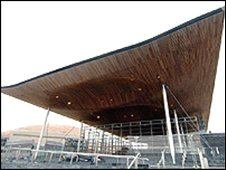 Senedd in Cardiff Bay