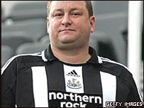 Mike Ashley  due�o de Newcastle United
