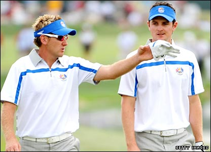 Poulter and Rose discuss tactics