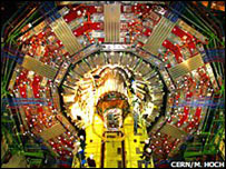 """خلل يوقف تجربة محاكاة """"الانفجار الكوني العظيم"""" _45035610_collidor.jpg203"""
