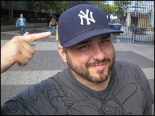 Yankees fan Sean Keller
