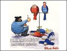 Steve Bell exhibition poster
