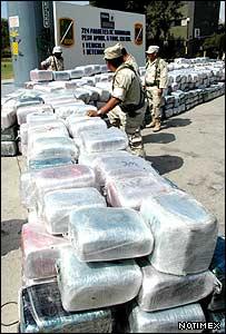 Decomiso de marihuana en Tijuana