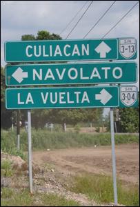 Rumbo a Culiacán. Foto Juan Carlos Pérez S.