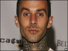 Travis Barker of Blink-182