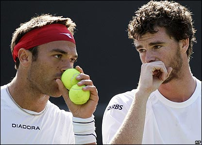 Ross Hutchins and Jamie Murray