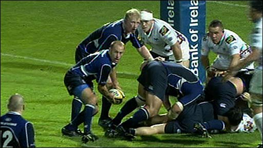 Leinster attack Ospreys defence