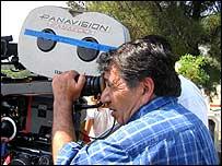 Mario Hern�ndez, director de cine mexicano