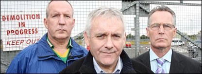 Bobby Storey, Brendan 'Bik' McFarlane and Gerry Kelly