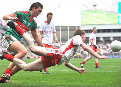 Tyrone and Mayo drew 14 points apiece in the All-Ireland Minor final