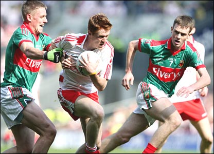 A late Matthew Donnelly pont rescued Tyrone against Mayo