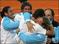 Equipo argentino de Copa Davis