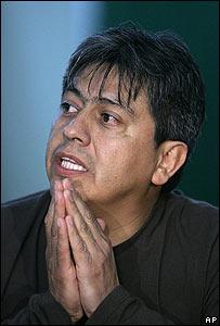 Mario Cossío, prefecto de Tarija