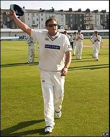 Darren Gough at Scarborough