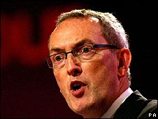 Business Secretary John Hutton